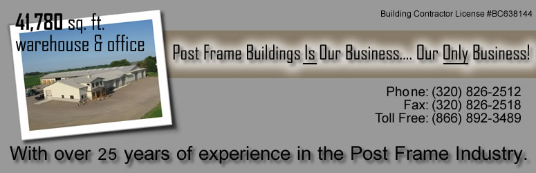 Post Frame Buildings Is Our Business